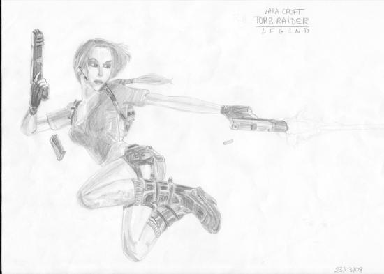 Lara Croft por XDra